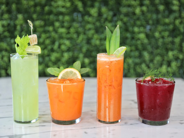 Kerbey Lane Cafe, juices, drinks