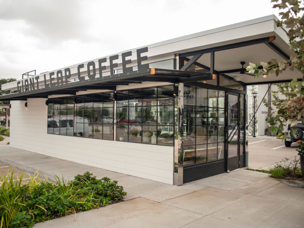 Giant Leap Coffee Uptown Park exterior