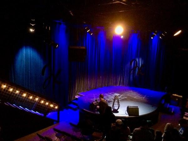 North Door empty stage
