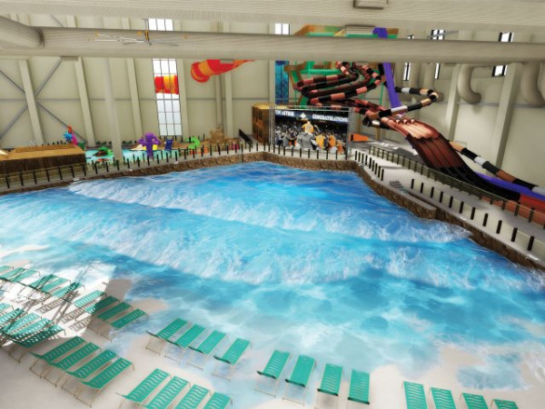 Kalahari Round Rock indoor pool