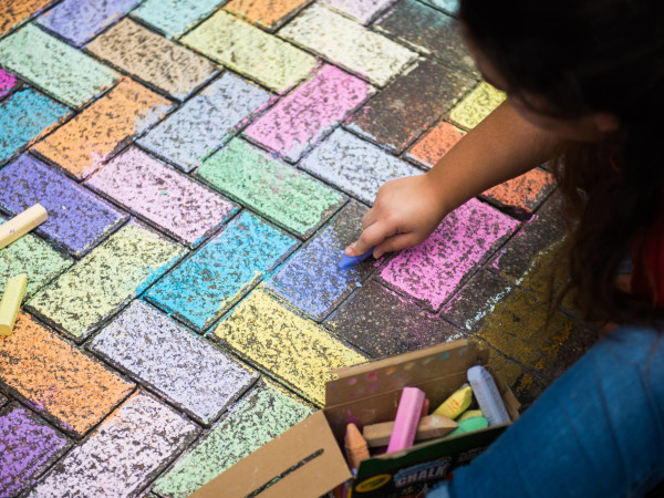 Artpace Chalk It Up 2019