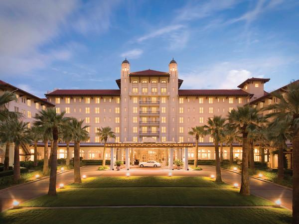 Hotel Galvez front Galveston