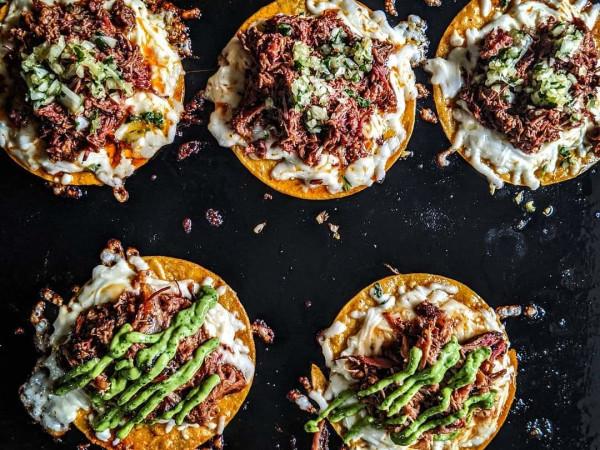 JQ's Tex MeX BBQ birria tacos Politan ROw
