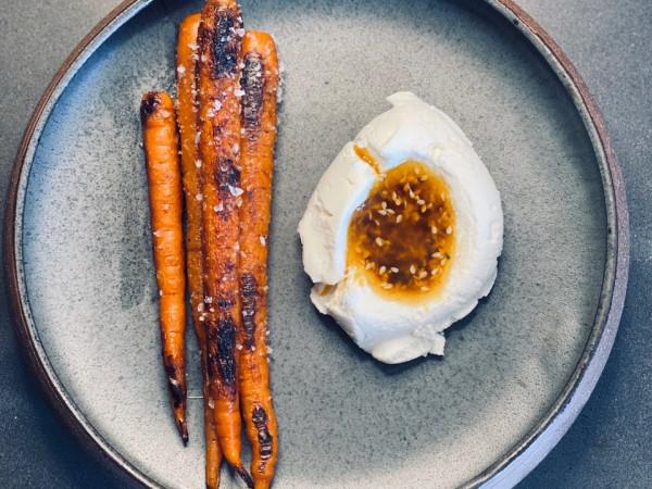 Kumo roast carrots