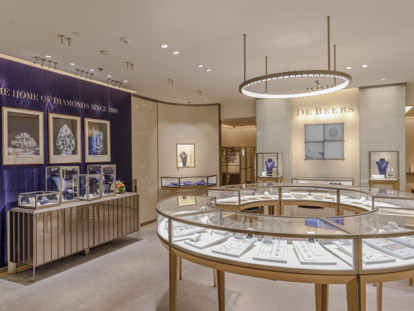 De Beers Galleria store Houston