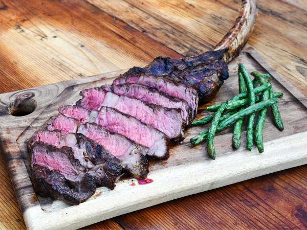 King Ranch Texas Kitchen tomahawk steak