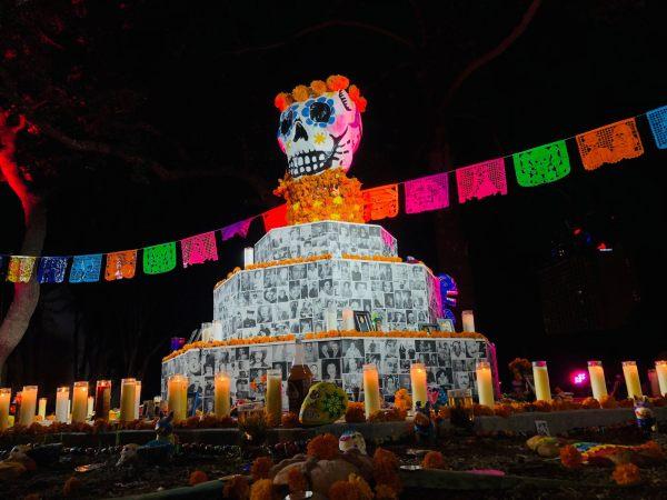 Dia de los Muertos altar san antonio