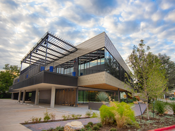 KMFA headquarters building studio