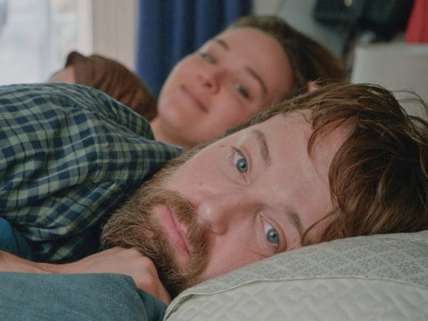 Jess Weixler and Joshua Leonard in Fully Realized Humans
