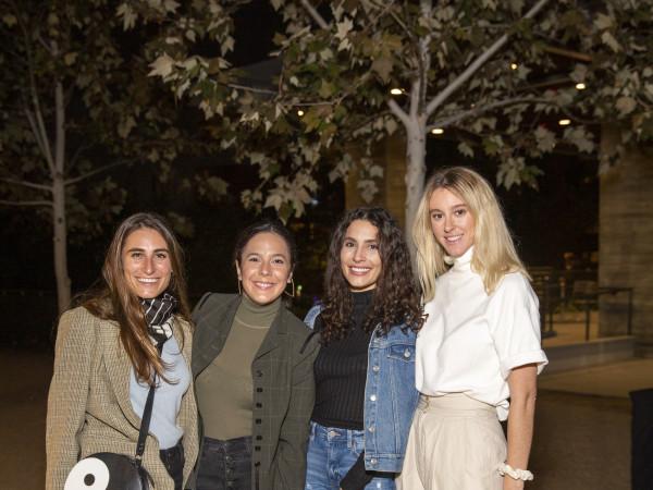 Buffalo Bayou Park picnic fifth anniversary Diandra Breen, Frances Lummis, Anna Marie Soza, and Chase Musslewhite