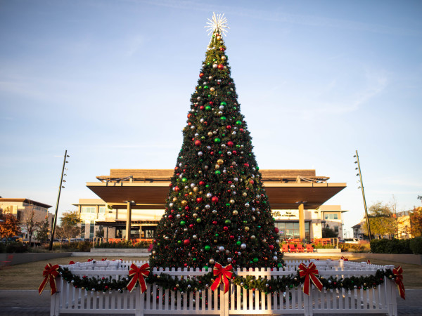 Christmas tree hill country galleria