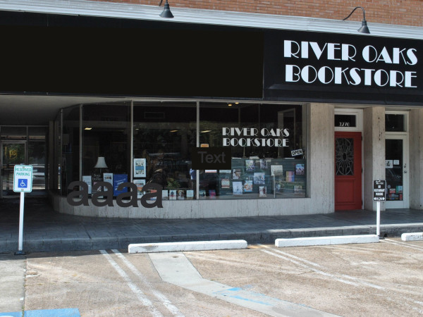 River Oaks Bookstore, exterior