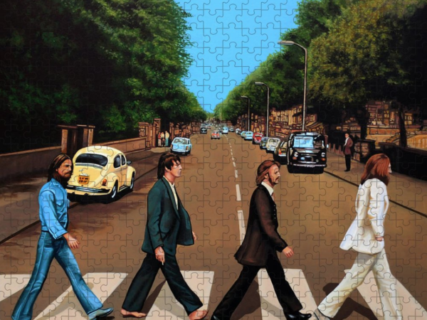 The Beatles puzzle by Paul Meijering