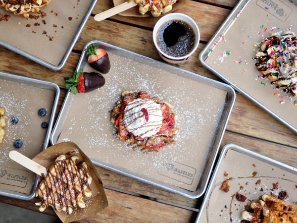 Press Waffle Co. spread