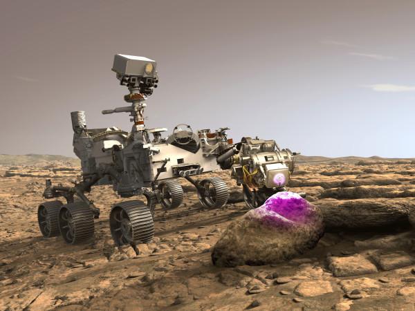 NASA Mars rover Perseverance