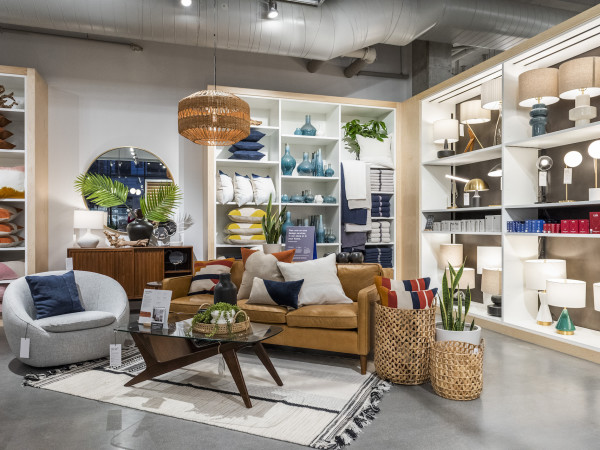 West Elm store interior
