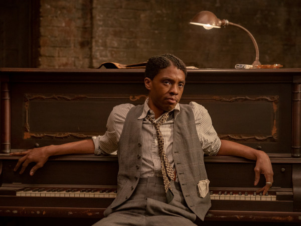 Chadwick Boseman in Ma Rainey's Black Bottom