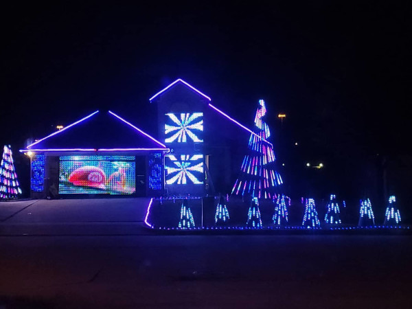 Wisdom Way Lights, Haltom City