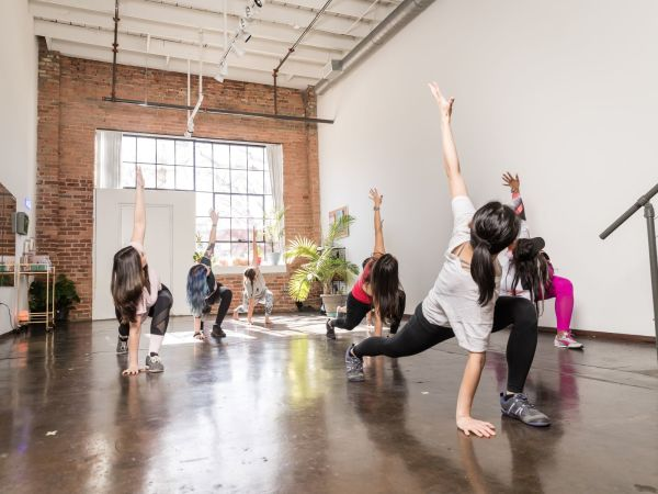 Movement Loft, yoga class