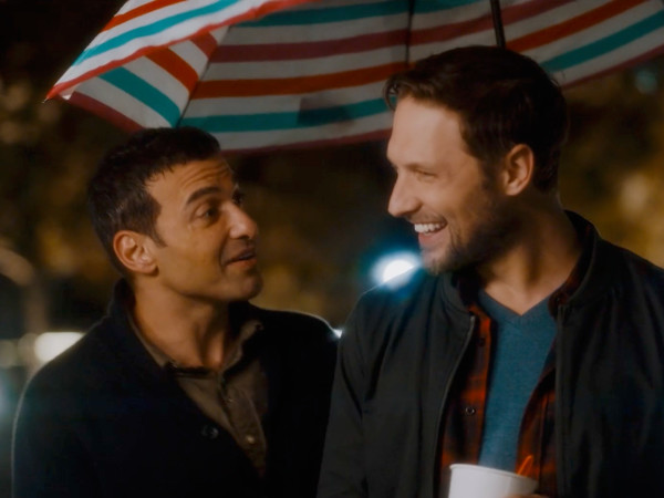 Haaz Sleiman and Michael Cassidy in Breaking Fast