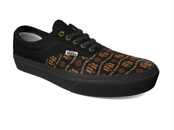 Red River Cultural District branded Vans shoes Austin