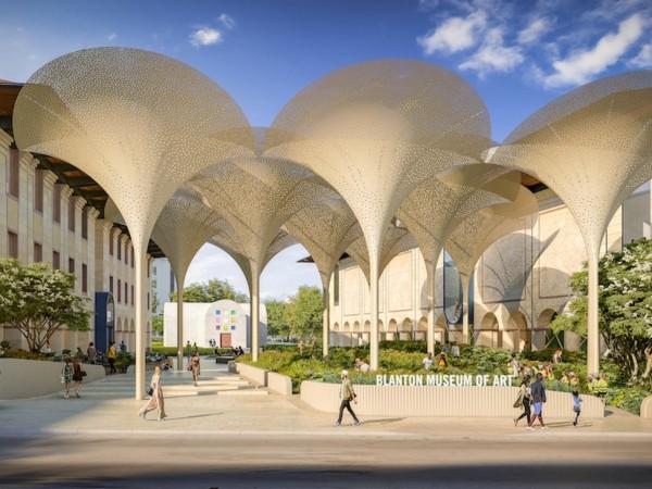 Blanton Museum of Art new grounds