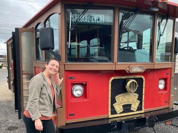 Earthen Market trolley San Antonio