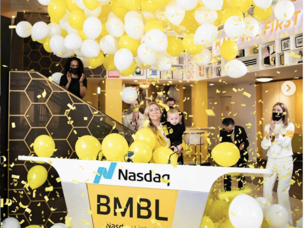 Bumble Whitney Wolfe Herd IPO day