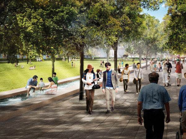 Hemisfair's Civic Park rendering