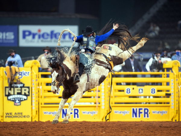 Ryder Wright at the PRCA ProRodeo