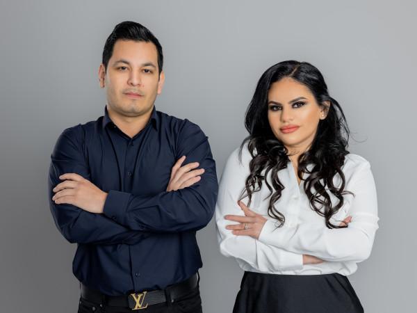 Gabriela Bucio and Arturo Bucio
