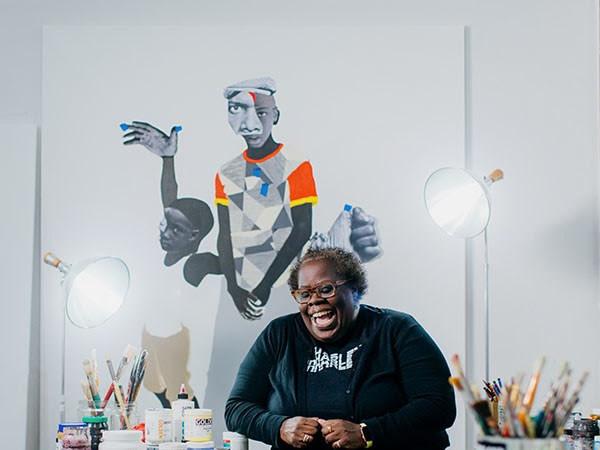 Deborah Roberts artist portrait