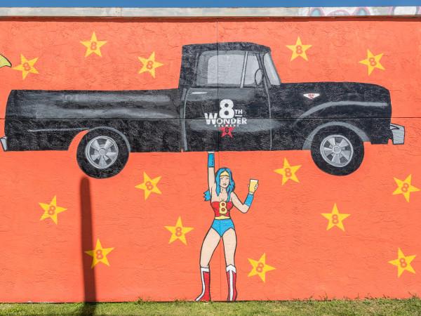8th Wonder mural