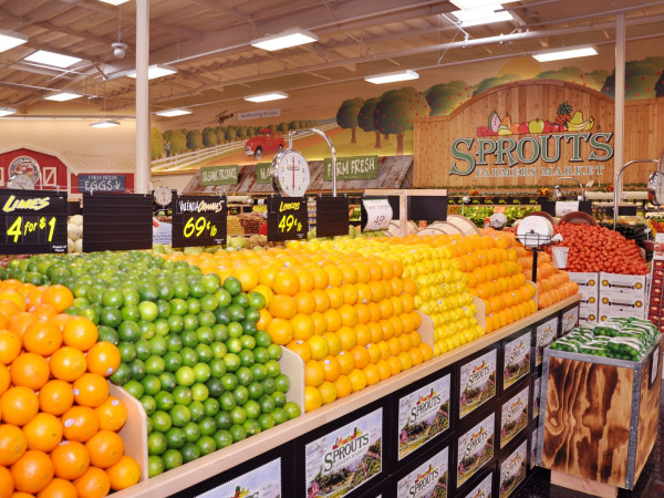Sprouts Farmers Market produce section