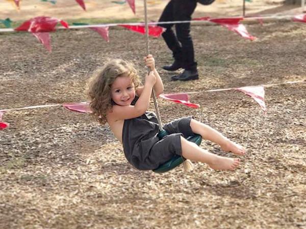 Blessington Farms kid swing