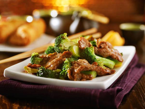 Chinese chicken & broccoli