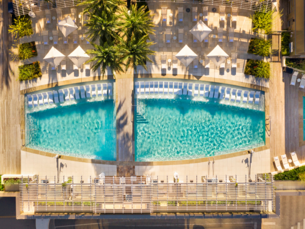 Fairmont Hotel Austin pool