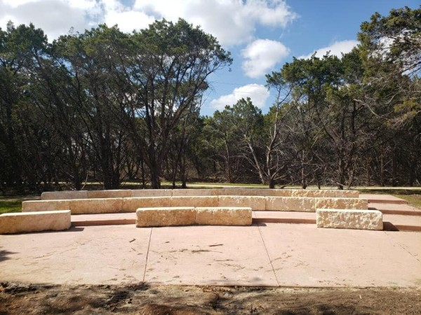 Amphitheater at Maverick Creek Greenway Trail San Antonio