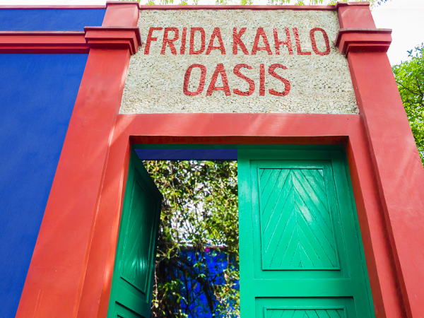 Frida Kahlo Oasis exhibit San Antonio