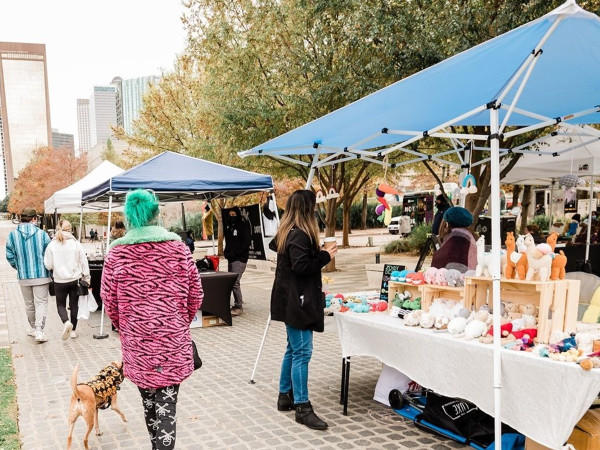 The Boho Market at Klyde Warren Park