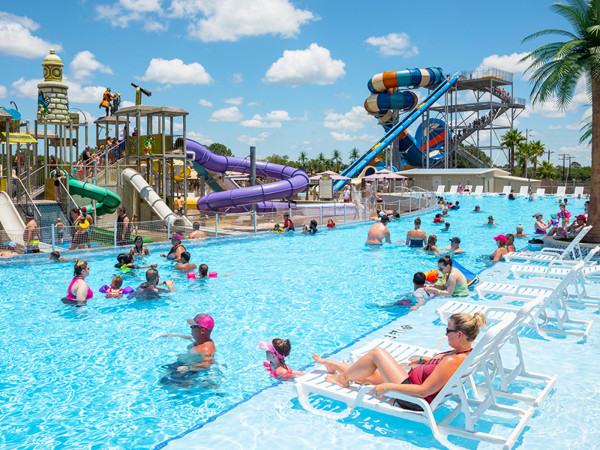 Splashway Water Park Wine Walk market 2021