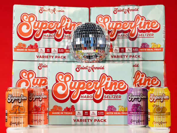 Saint Arnold Superfine hard seltzer variety pack