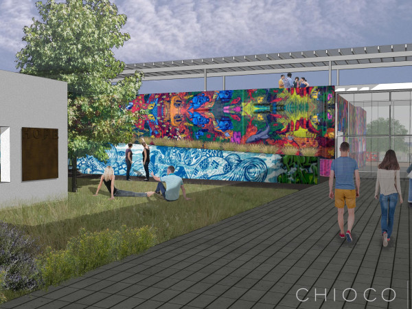 HOPE Outdoor Gallery Austin rendering