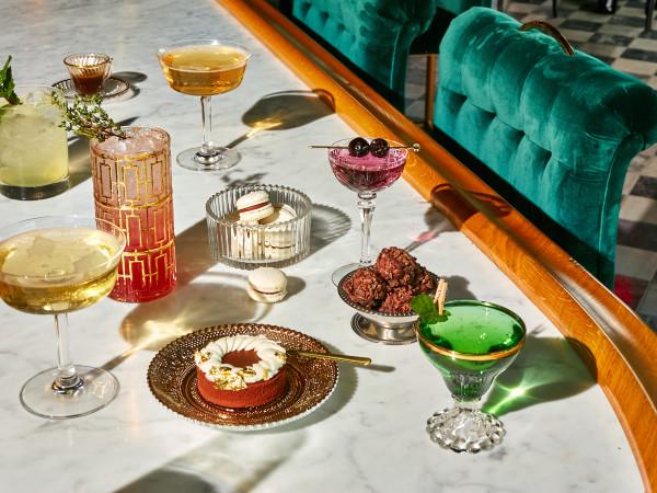 Lutie's drinks and dessert