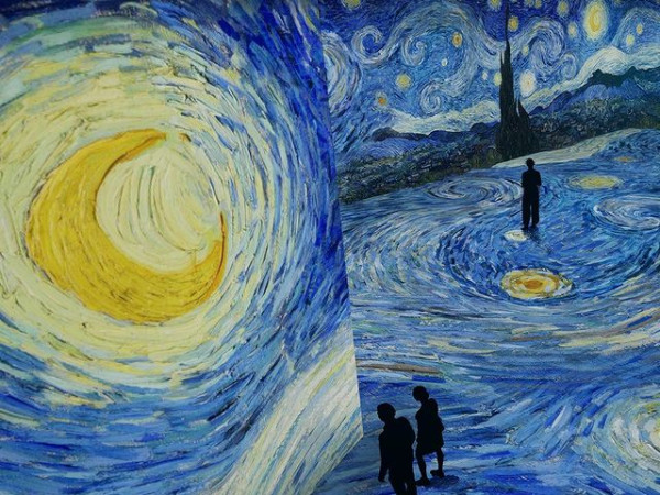 Van Gogh Starry Night Austin