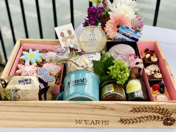 Mozart's Mother's Day gift basket