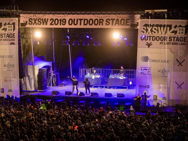 SXSW outdoor stage 2019
