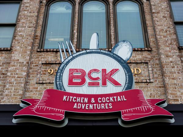 BCK restaurant exterior