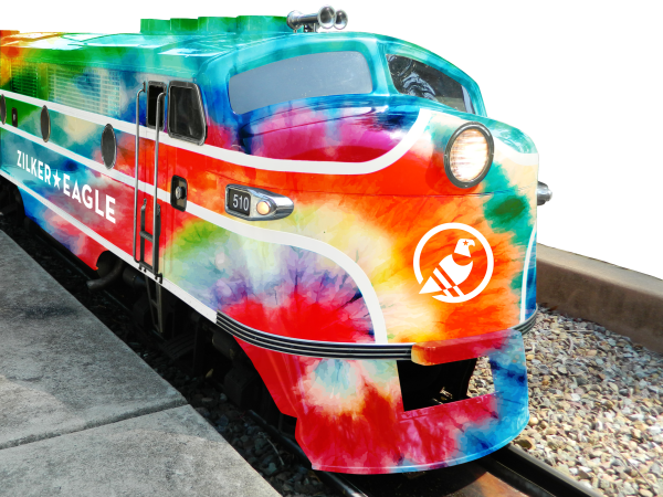 Zilker Eagle train rendering