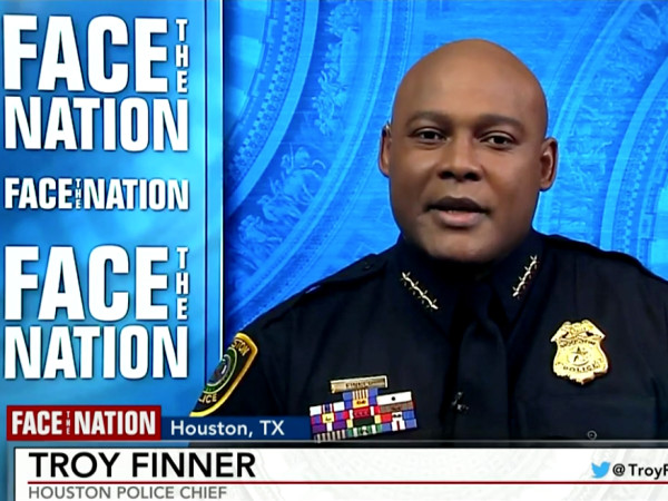 Troy Finner Face the Nation CBS